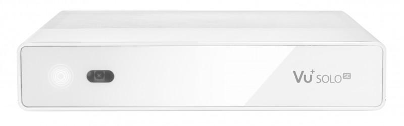 VU+ Solo SE Digital Sat Receiver 1x DVB-S2 Tuner Linux HDTV FullHD Weiß