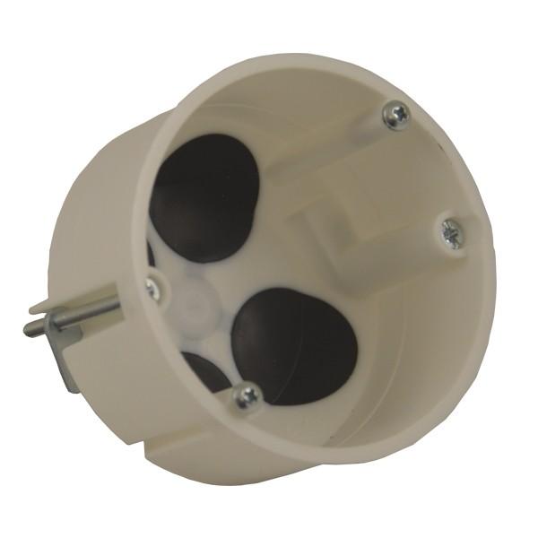 Dose für Hohlwand luftdicht Halogenfrei mit Durchstossmembrane, weiss Gerätedose, Elektroinstallation Hohlwandschalterdose Elektro Montage