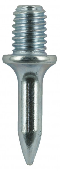 100x Einschlagdübel Betondübel 8x18mm Schraubdübel gehärtet glanzverzinkt M6 8x18 L=18mm Einschlagbolzen mit Gewinde