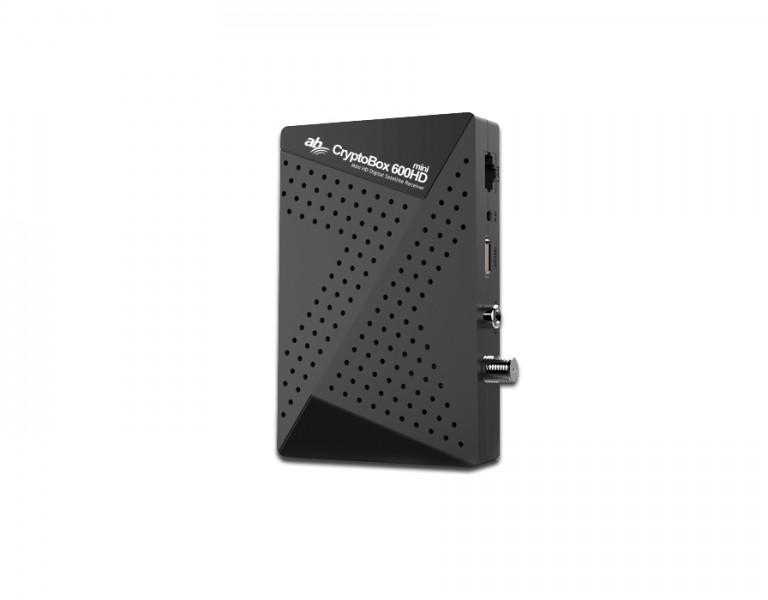 AB CryptoBox 600HD Mini HD Digital SAT Receiver AB-Com DVB-S2 IPTV HDTV