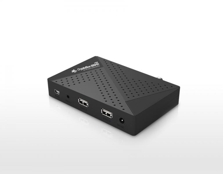 AB CryptoBox 600HD Mini Digital Sat Receiver DVB-S2 IPTV AB-Com HDTV FullHD