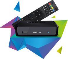 MAG 250 IPTV OTT Set Top Box ORIGINAL Multimedia Player Internet TV webbrowser IP – Bild 2