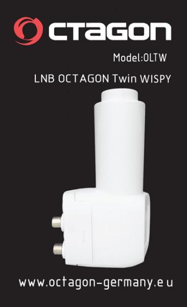 Octagon Twin Wispy OLTW HQ LNB 0.1dB 3D Ready