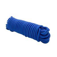 Expanderseil 30 m Blau 8 mm Gummiseil Gummischnur Spannseil Planenseil Gummileine elastisches Seil spannen und befestigen