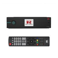 Red Eagle TwinBox Digital Sat Receiver 1x DVB-S2 Tuner Linux E2 LCD FullHD