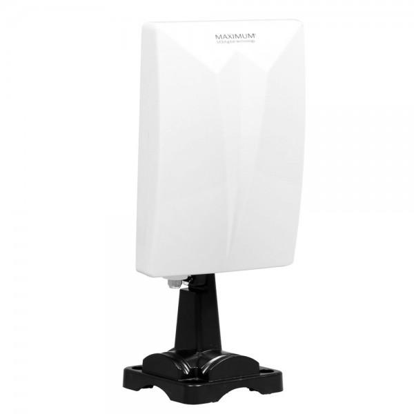 Maximum DA-4000 Aktive Außenantenne Panel Antenne VHF UHF UKW für DVB-T und DAB+