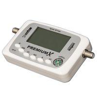 PremiumX Digitaler Sat Finder PXF-33 mit LCD-Display Satellitenerkennung und Kompass – Bild 2