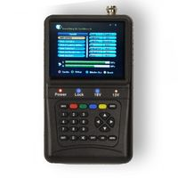 PremiumX PXF-1000 Digitaler Profi Sat Finder mit 3,5' LCD Display Satellitenfinder Satfinder