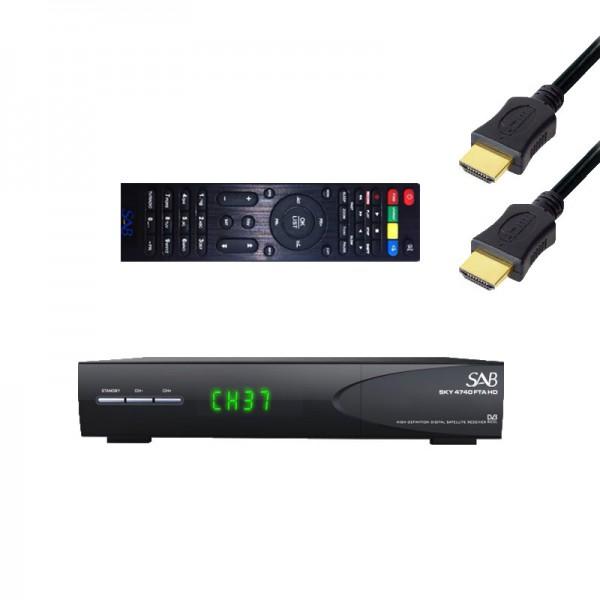 sab sky 4740 hd fta sat receiver mediaplayer 1080p usb 1m premiumx high speed hdmi kabel. Black Bedroom Furniture Sets. Home Design Ideas