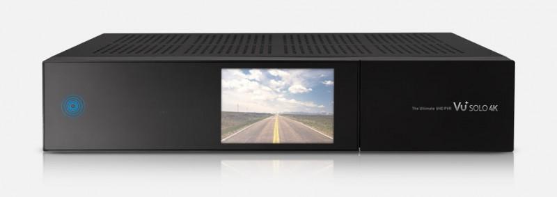 VU+ Solo 4K 2x DVB-S2 Tuner PVR Ready Twin Linux Receiver inkl. 500 GB Festplatte