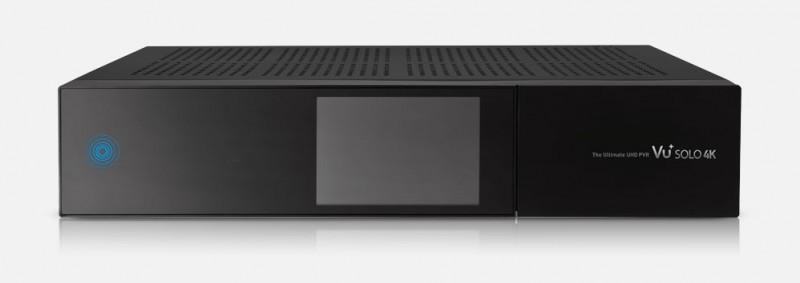 VU+ Solo 4K 2x DVB-S2 Tuner PVR Ready Twin Linux Receiver inkl. 1TB Festplatte