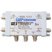 EMP-Centauri DISEqC-Doppel-Switch 4/2 ECP-2 EMP E.166-A HDTV 3D 4k
