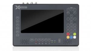 Amiko X-Finder 2 LCD Messgerät Satfinder Sat Finder Set-Top Box Satelliten-Messgerät HD DVB-S2 / DVB-S / DVB-C / DVB-T / DVB-T2 FULLHD X Finder mit Kartenleser