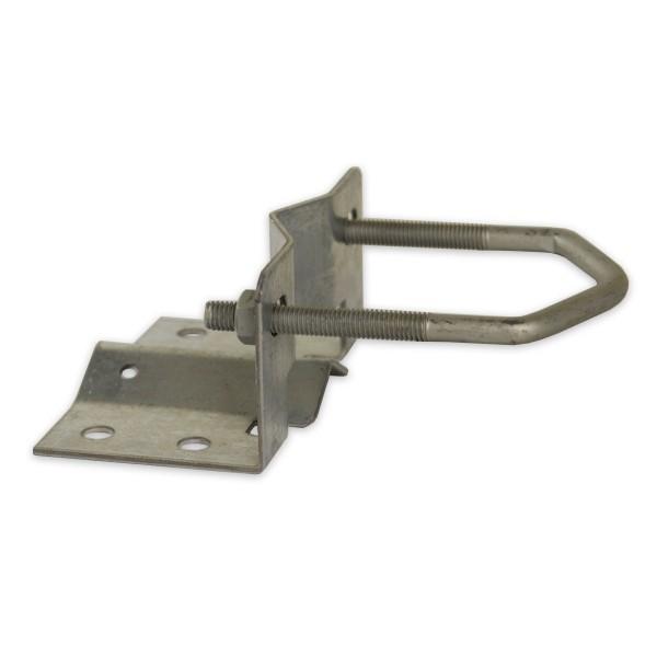 PremiumX Mastfuß Stahl verzinkt 20-60mm Durchmesser