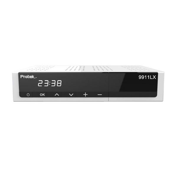 Protek 9911 LX Digital Sat Receiver 2x DVB-S2 Tuner E2 Linux HDTV FullHD