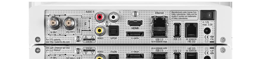VU+ Solo SE V2 WE 1x DVB-C/T2 Tuner Weiß Full HD 1080p Linux Receiver
