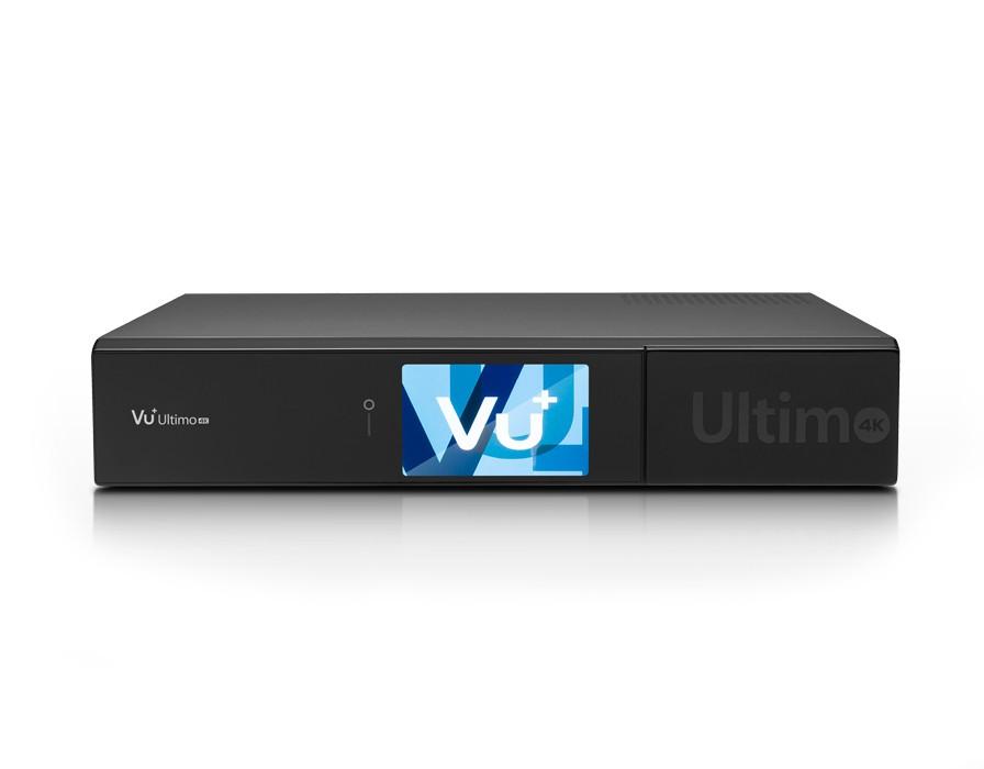 VU+ Ultimo 4K Digital Sat Receiver 2x DVB-S2 FBC + 1x DVB-C/T2 Dual Tuner