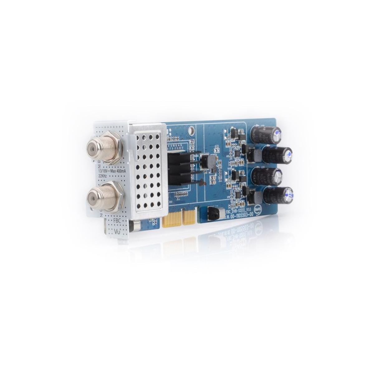 VU+ DVB-S2 FBC Twin Sat Tuner Uno 4K / Ultimo 4K ( 8 Demodulatoren )