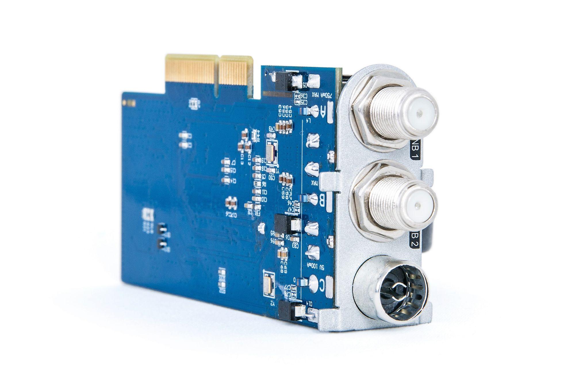 Dreambox Hybrid Triple Tuner 2x DVB-S/S2 / 1x DVB-C/T2 H.265 Plug & Play für DM7080 HD DM820 DM900 UHD 4K