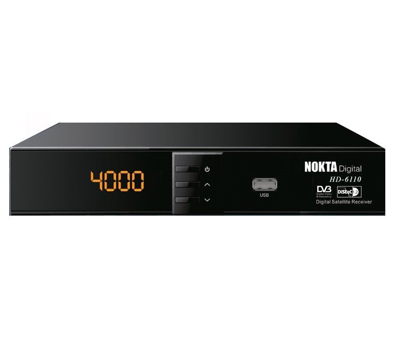 Nokta Digital HD 6110 FTA Digital Sat Receiver DVB-S2 HDMI USB HDTV FullHD