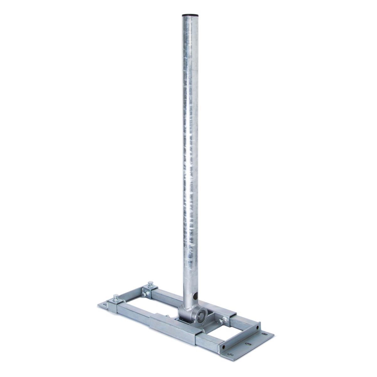 PremiumX DELUXE X90-60 Dachsparrenhalter 90cm Mast für Satellitenantenne Sparrenhalter SAT Dachhalter mit Kabeldurchführung