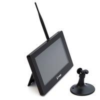 "SCHMIDT-Security-Tools Funk Überwachungssystem 3x Kamera 9"" Touch Monitor mit Standfuß HD Videoüberwachungsanlage drahtlos Überwachungsset Sicherheitssystem – Bild 3"