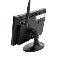 "SCHMIDT-Security-Tools Funk Überwachungssystem 3x Kamera 9"" Touch-Monitor mit Standfuß HD Videoüberwachungsanlage Drahtlos Überwachungsset Sicherheitssystem 500GB HDD Festplatte – Bild 3"