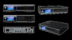 Gigablue UHD Quad Sat Receiver DVB-S2 Twin Tuner Linux + 1TB HDD Festplatte – Bild 2