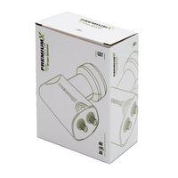 PremiumX Twin LNB GDT 0,1 dB Digital Sat Empfangskopf  Schwarz für 2 Teilnehmer  mit Wetterschutz HDTV Full HD UltraHD 3D 4K – Bild 5