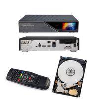 Dreambox DM 920 UHD 4K 1x Dual DVB-S2 FBC Tuner E2 Linux PVR Receiver + 1TB HDD Festplatte