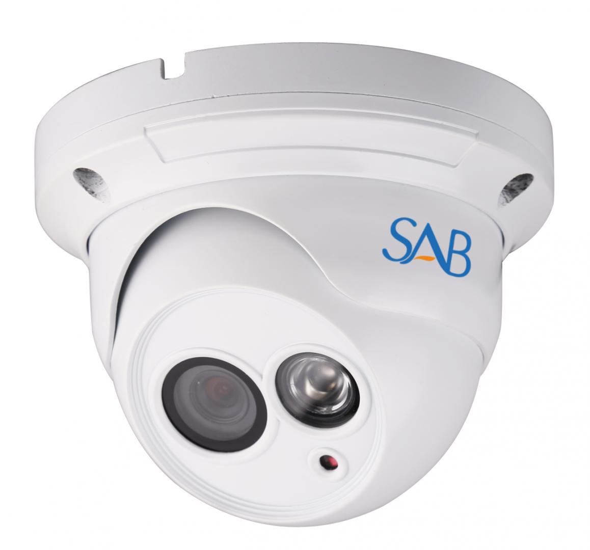 SAB IP1100 Camera Outdoor HD PoE Dome 720p IP Netzwerk Videoüberwachung Kamera