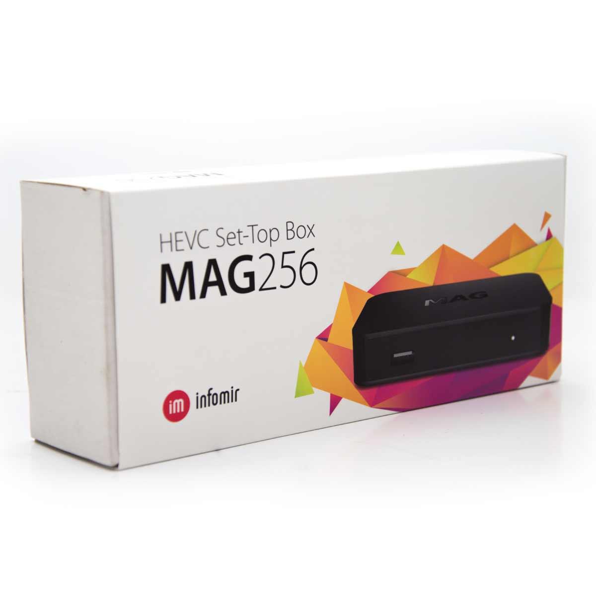 5x MAG 256 original HEVC Set-Top Box IPTV Multimedia Player Internet TV IP Linux Receiver H.265 Infomir