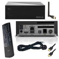 VU+ ZERO 4K 1x DVB-C/T2 Tuner Linux Combo Kabel Receiver CI HbbTV HEVC H.265 Set-Top-Box UHD 2160p mit PremiumX USB WLAN Stick