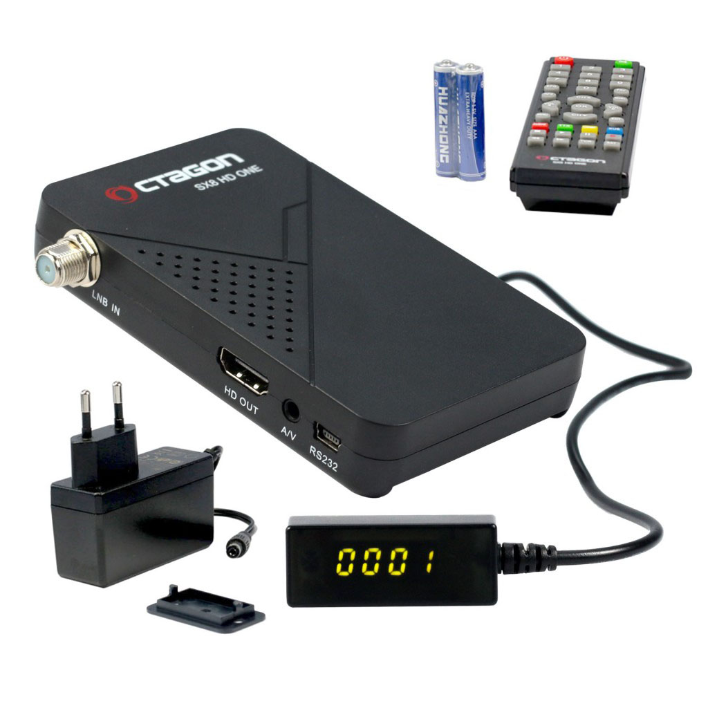 Octagon SX8 HD One Magic Digital Sat Receiver DVB-S2 HDTV IPTV  Multistream