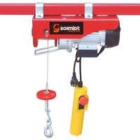 SCHMIDT security tools Seilwinde für schwere aber auch leichte Gegenstände Flaschenzug Kran für ein Gewicht bis zu 400 kg