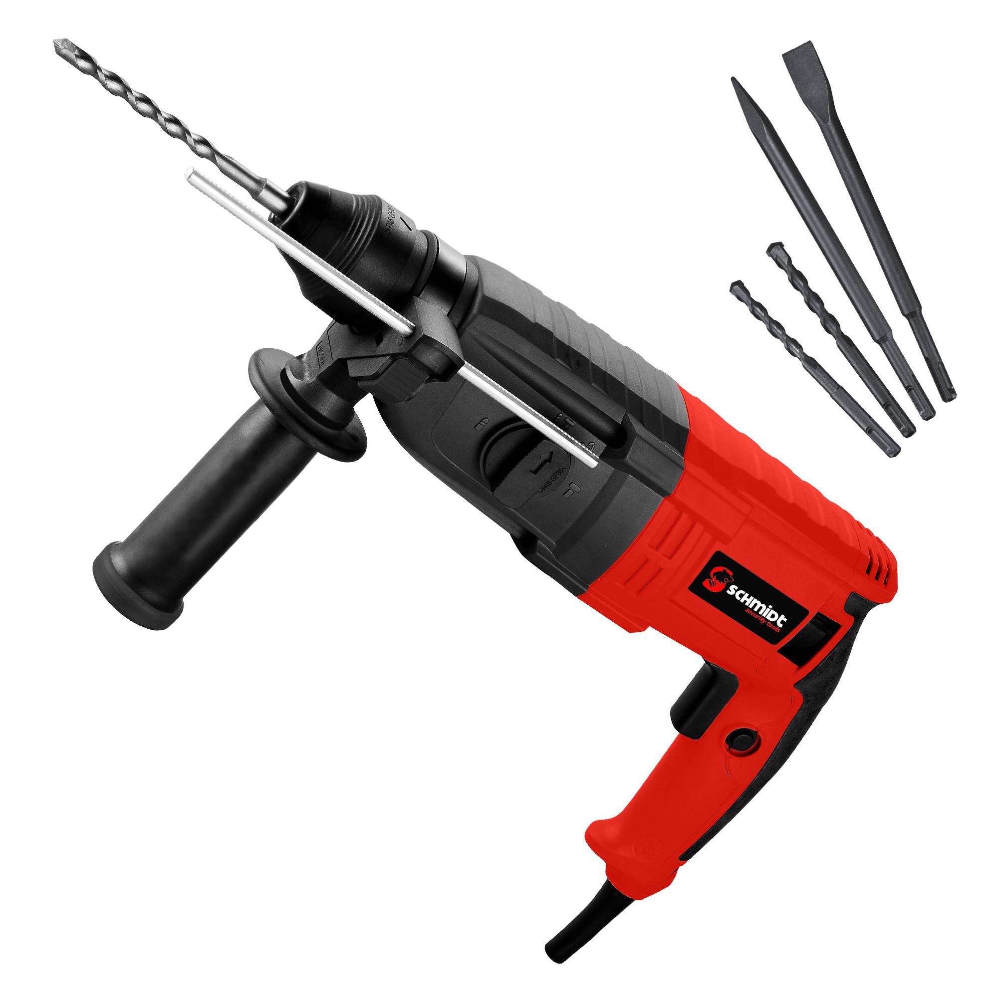 Gut gemocht SCHMIDT security tools SDS-Plus Bohrhammer RH-710 Meißelhammer CL58