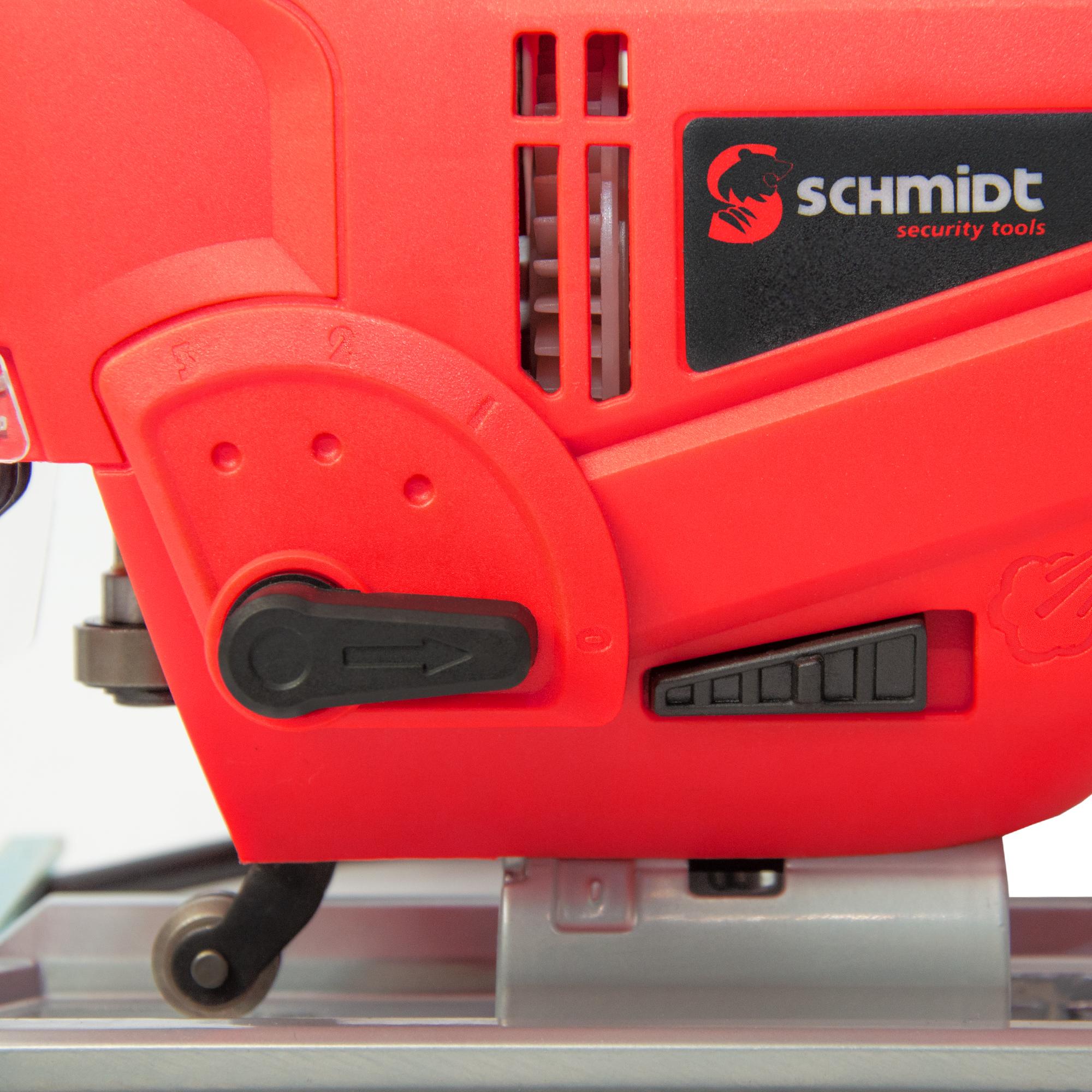 SCHMIDT security tools Stichsäge JS-800 mit Laserführung und LED-Licht 800W