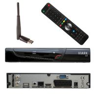 Viark Sat  Full HD Satelliten Receiver DVB-S2 1080p WLAN STICK INKL.