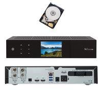 VU+ Duo 4K 1x DVB-S2X FBC Twin/1x DVB-C FBC Tuner Receiver 1 TB Festplatte