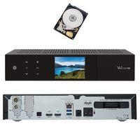 VU+ Duo 4K 1x DVB-C FBC Tuner Kabel Receiver UHD 2160p 2 TB Festplatte