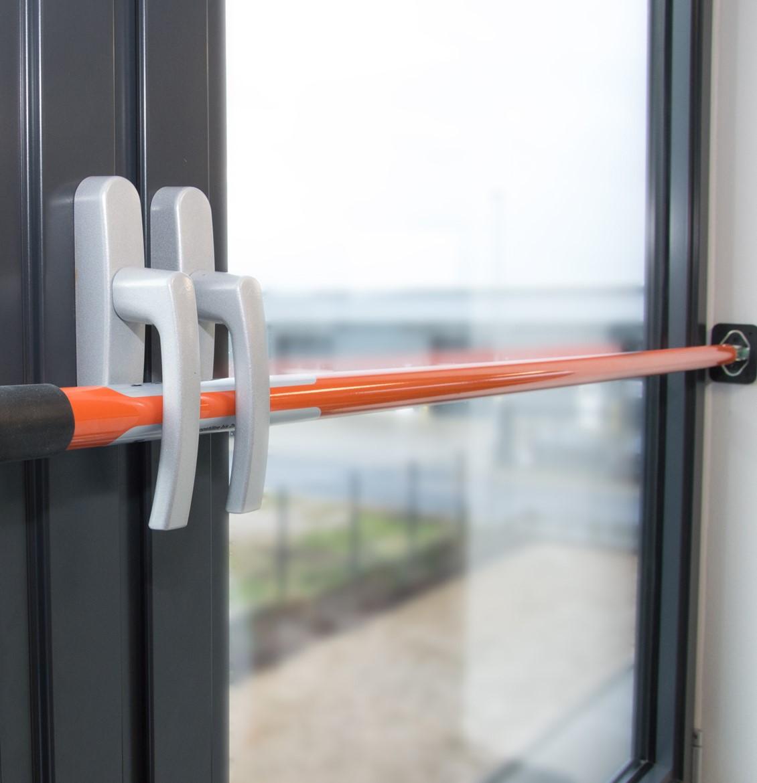 schmidt security tools sicherungsstange 65 115 cm einbruchsicherung f r fenster und t ren