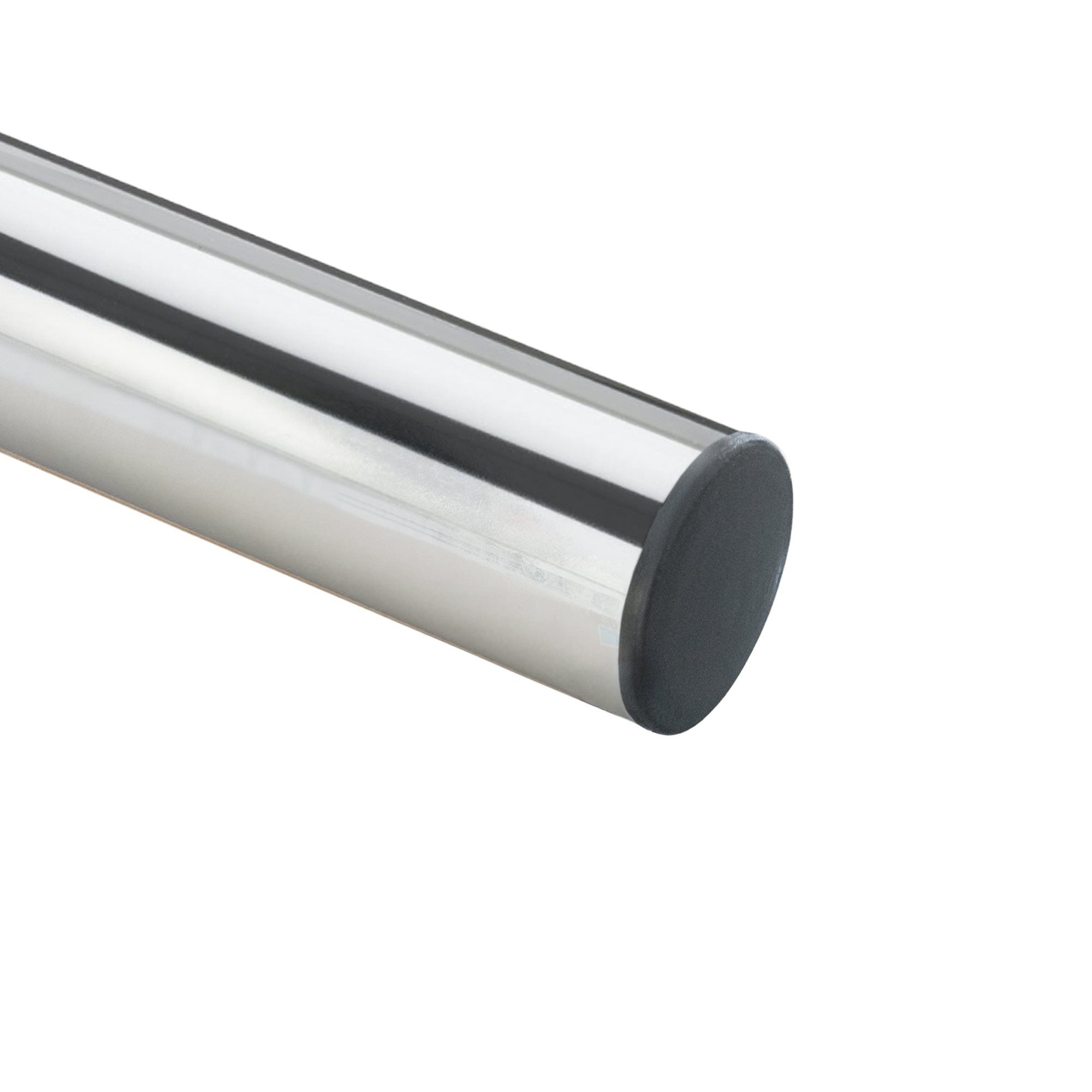 PremiumX DELUXE X90-48C Dachsparrenhalter 90cm Chrom Mast 48mm SAT Dach Halterung Sparrenhalter mit Kabeldurchführung