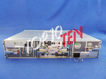 EMC 046-004-213 SAE 25 Bay Chassis incl. 2x CNTLR Cards 2x PSU