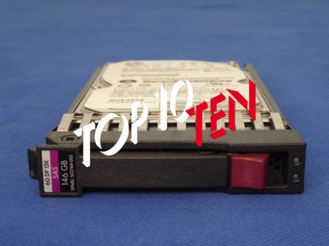 "HP 512744-001 146GB 2,5"" 15000 RPM Dual Port SAS HDD"