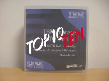 IBM LTO-7 Tape Data Cartridge with Customized Barecode Label