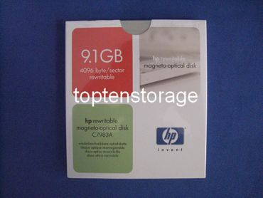 "HP C7983A 5,25"" 9,1GB rewritable MO Disk"