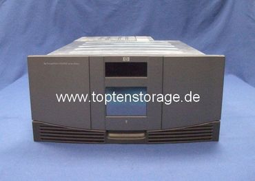 HP AD597-63002 MSL6030 Library with 2x LTO-3 drives, 30 slots, SCSI LVD