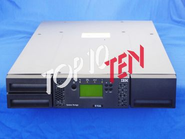 IBM 3573-L2U TS3100 24-slots Tape Library with 1x LTO-5 HH SAS Drive