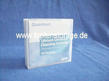 Quantum LTO Cleaning Tape with customized label