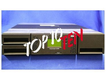 DELL 95P7006 TL2000 Library with 2x LTO-4 HH drives, 24 slots, SAS